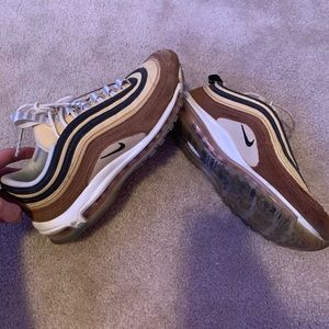 NIKE AIR MAX 97 RARE brown and tan colorway